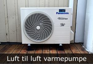 luft til luft varmepumpe